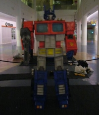 6 feet Optimus Prime