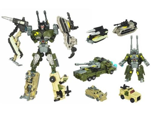 Bombshock with Combaticons (Wave 1)