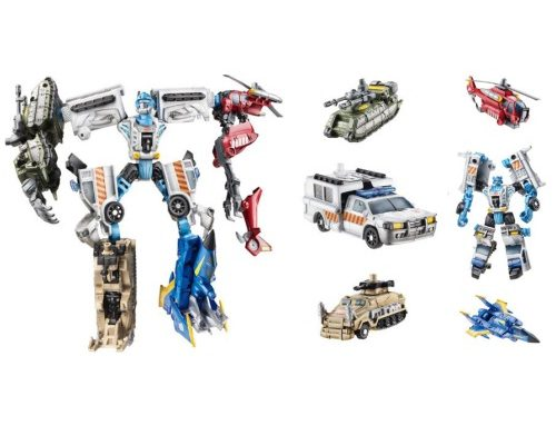 Stakeout with Protectobots (Wave 3)