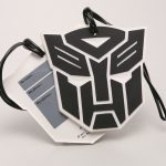 Transformers Dark of the Moon Luggage Tag - Autobot Logo