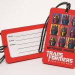 Transformers Dark of the Moon Luggage Tag - Optimus Prime