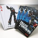 Transformer Dark of the Moon Playing Cards