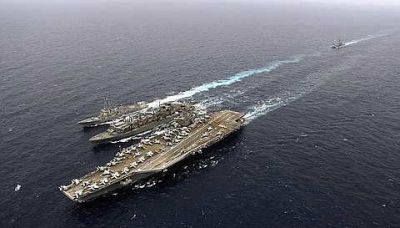 n 16sten a1 USS John C.Stennis, Carrier in Transformers Docks At Port Klang