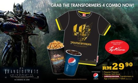 TGV Transformers Age of Extinction