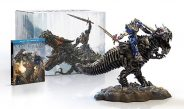 Amazon Offering Transformers Age of Extinction Grimlock & Optimus Gift Set Statue