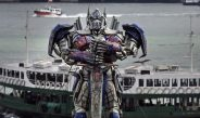 Optimus Prime Erected At Tsim Sha Tsui Waterfront